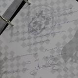 Записи в книге почетных гостей от губернаторов