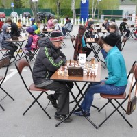 An open air tournament was organized in Khanty-Mansiysk