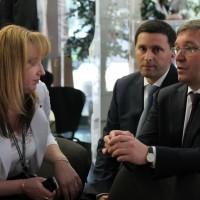 Турнир посетили главы двух регионов России