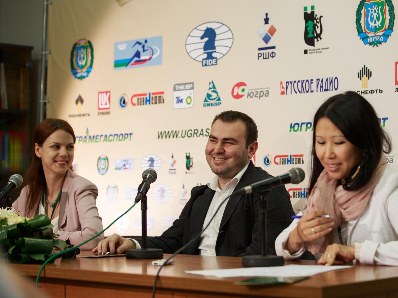 Пресс-конференция с Шахрияром Мамедьяровым